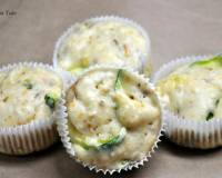 Zucchini, Corn And Smoked Cheese Muffins Recipe