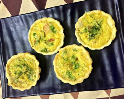 Bacon Quiche Tart Recipe