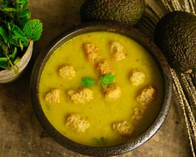Avocado Mint Soup Recipe