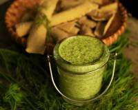 Dill Leaves & Parmesan Dip Recipe