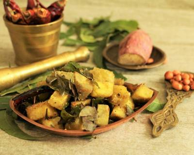 Sweet Potato & Neem Leaves Vegetable Curry Recipe