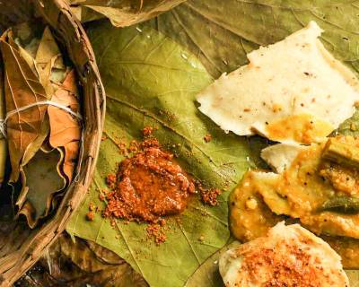 Thonnai Idli Recipe (Dried Leaves Idli)