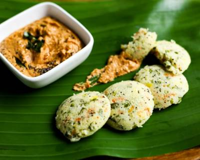 Veggie Rava Idli Recipe- Healthy Breakfast Idli