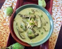 Aubergine in Spicy Peanut Sauce Recipe