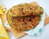 Lauki Paratha Recipe - Bottle Gourd Flatbread