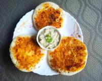 Milagai Podi Uthappam Recipe - Spicy Chilli Powder Pancake Recipe