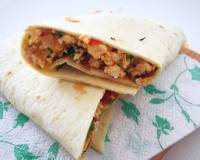 Paneer Bhurji Wraps Recipe