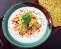 Papad Raita Recipe