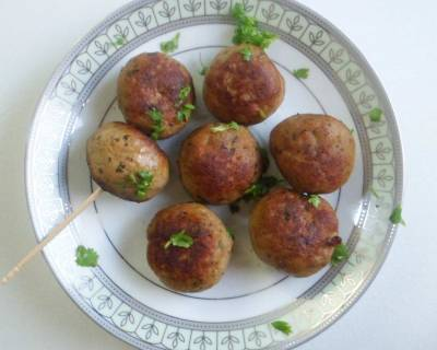 Gola Kebab (Indian Style Meat Balls) Recipe