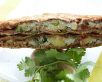 Chaat Masala Mashed Potato Toasted Sandwich Recipe