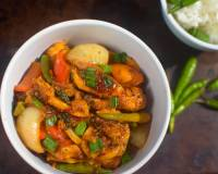 Pan Fried Chinese Chilli Chicken recipe