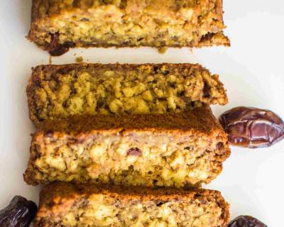 Sugar Free Pineapple Dates Cake Recipe