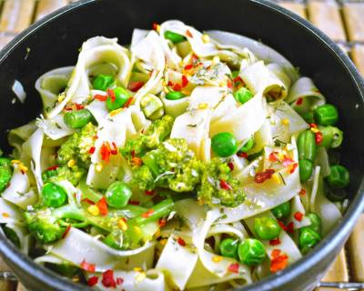 Asian Style Rice Noodle Salad Recipe With Vegetables Recipe