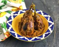 Bharma Baingan Ki Sabzi Recipe - Spicy Stuffed Brinjals