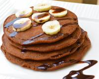 Chocolate Pancakes With Banana Recipe