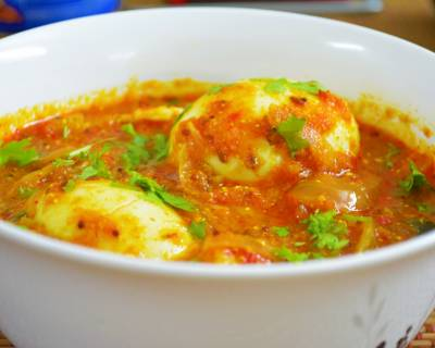 Dhaba Style Egg Curry Recipe in Electric Pressure Cooker