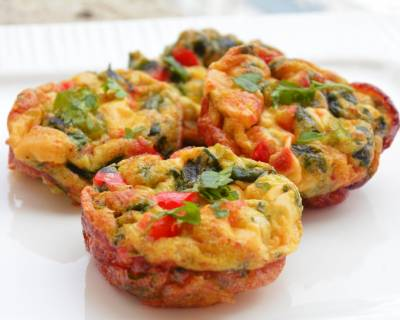 Egg Muffin With Vegetables Recipe
