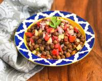 Indian Style Kala Chana Salad Recipe