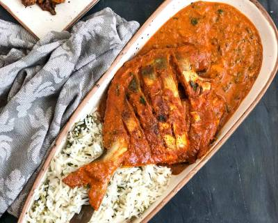 Lagan Ki Machli Recipe - Delicious Pomfret Curry