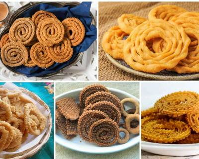 8 Crunchy & Delicious Murukku Recipes That Are Perfect For An Evening Snack