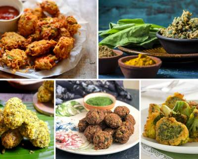 22 Mouth Watering Pakora Recipes For Tea Time Snack