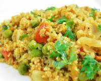 Spicy Broken Wheat Khichdi With Vegetables Recipe