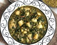 Aloo Methi Masala Recipe - Potato & Fenugreek Leaves Gravy