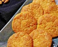 Eggless Almond Coconut Cookies Recipe