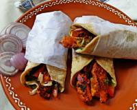 Paneer Tikka Wraps Recipe