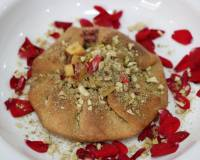 Thandai Nectarine Mini Galette Recipe