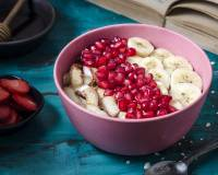 Coconut Banana Oatmeal Porridge Recipe