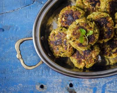 Moong Sprouts And Sweet Potato Cutlet Recipe