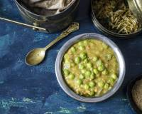 Phalguni Dal Recipe - Bengali Style Red Lentils With Fresh Green Peas