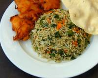 Drumstick Leaves Fried Rice Recipe