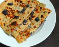 Vegan Black Beans Stuffed Paratha Recipe