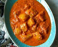 Amlechi Uddamethi Recipe - Goan Raw Mango Curry