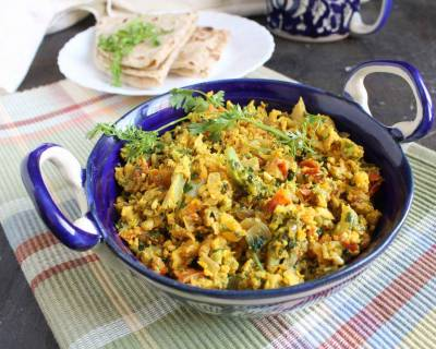 Broccoli Egg Bhurji Recipe