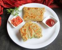 Broccoli And Aloo Lifafa Paratha Recipe