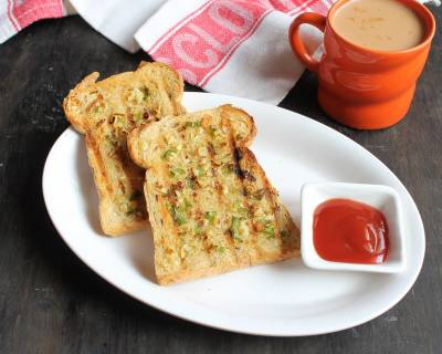 Chilli Garlic Toast Recipe