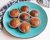 Eggless Whole Wheat Banana Muffins Recipe