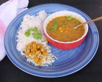 Goan Chana Ros Recipe (White Peas Curry)