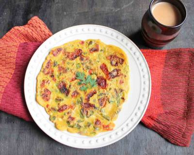 Whole Wheat Vegetable Chilla (Cheela) Recipe