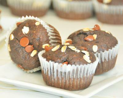 Quinoa-Flaxseed Banana Muffins Recipe