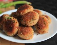 Healthy Vegetable Poha Cutlet Recipe -Vegetable Beaten Rice Patty