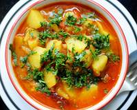 Aloo Tamatari Recipe (Potatoes Cooked In a Tomato-Based Stew)