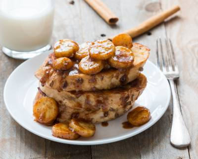 Caramelized Banana French Toast Recipe
