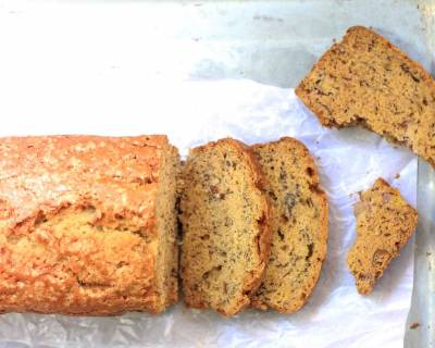 Healthy Whole Wheat Brown Butter Banana Bread Recipe
