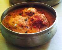 Malai Kofta Recipe -Cottage Cheese & Potato Balls In Creamy Red Gravy