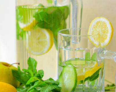 Lemon Cucumber Detox Water Recipe