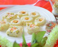 Milk Powder Chena Burfi Recipe